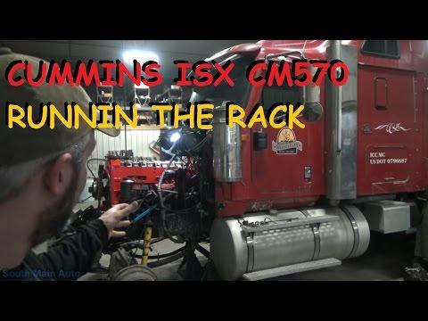 Cummins ISX CM570 Adjusting Valves, Injectors & Exhaust Brake