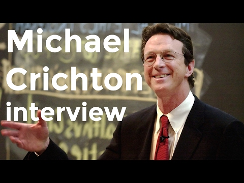 "Michael Crichton interview on ""Prey"" (2002)"