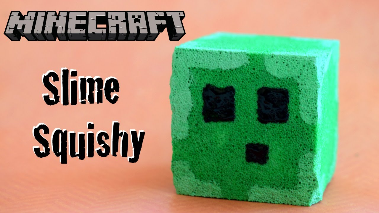 Squishy Maker Gudang Slime : DIY Minecraft Slime Squishy Stress