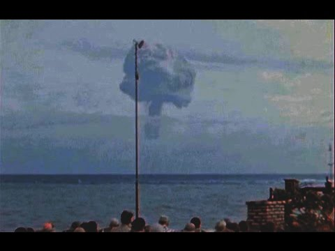 HD Godzilla First thermonuclear test 225kt new released from Government