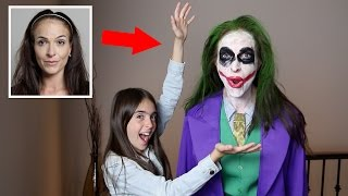 MOM BECOMES THE JOKER!