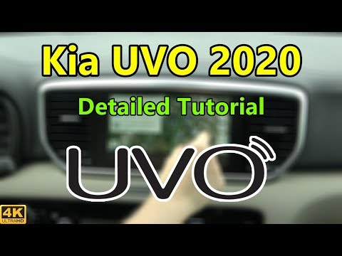 Kia UVO 2020 Detailed Tutorial And Review: Tech Help