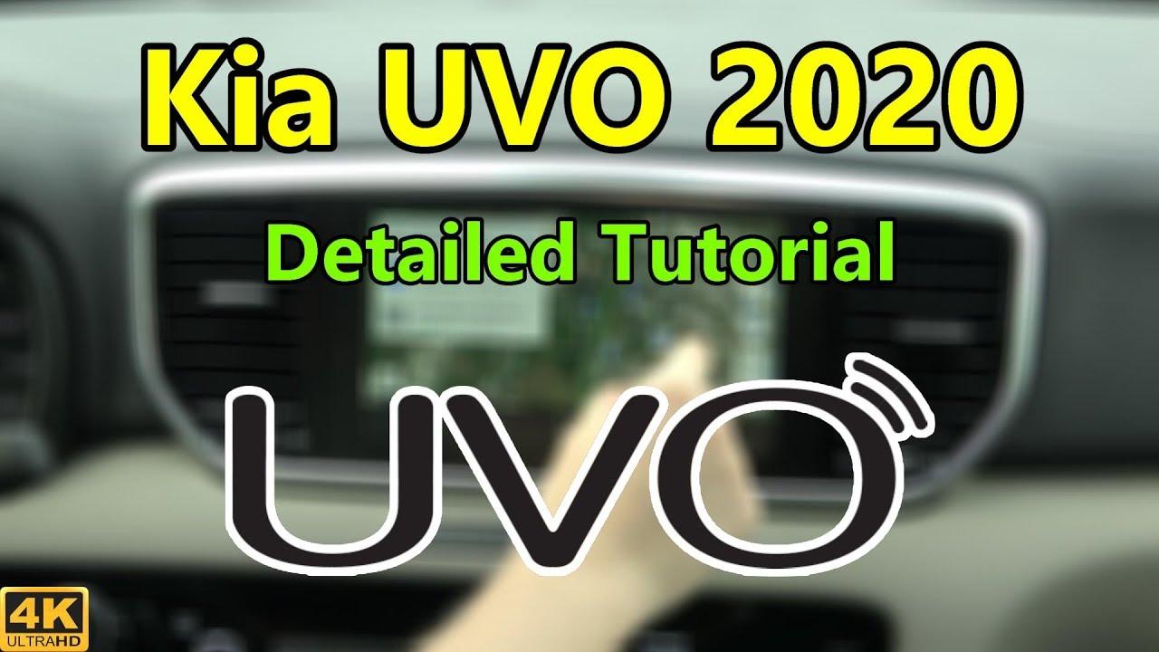 Kia UVO 2020 Detailed Tutorial and Review: Tech Help