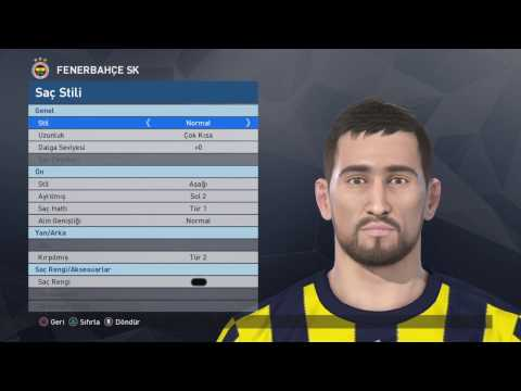 Pes 2017 Face Build   Mehmet Topal [Fenerbahçe] PS4