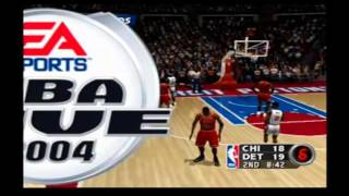 NBA Live 2004 Custom Teams Chicago Bulls vs Detroit Pistons