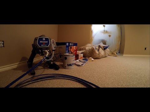 First Time Using Graco™ Airless Paint Sprayer | Part 3 - Clean Up & Storage For Beginners