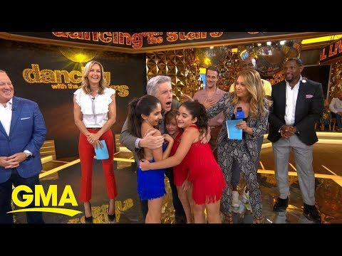 New 'DWTS' cast plays Guess that Groove on 'GMA' - Dancing
