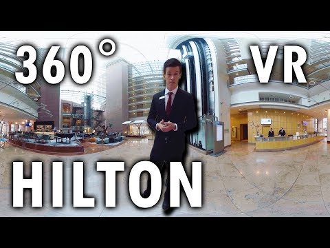 Hilton Frankfurt City Centre  | VR | 360 Grad Video | Virtua