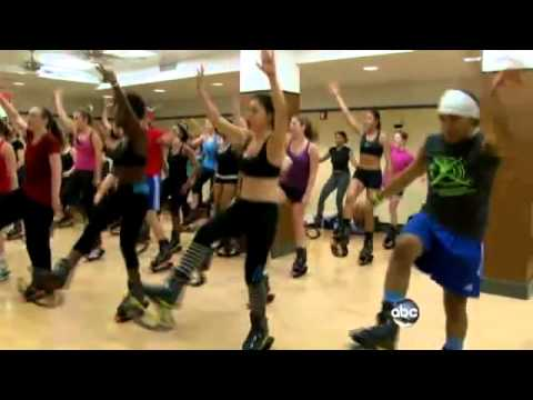 6149f1a06834 Kangoo Jumps Put a Healthy Low Impact Bounce in Your Workout - YouTube