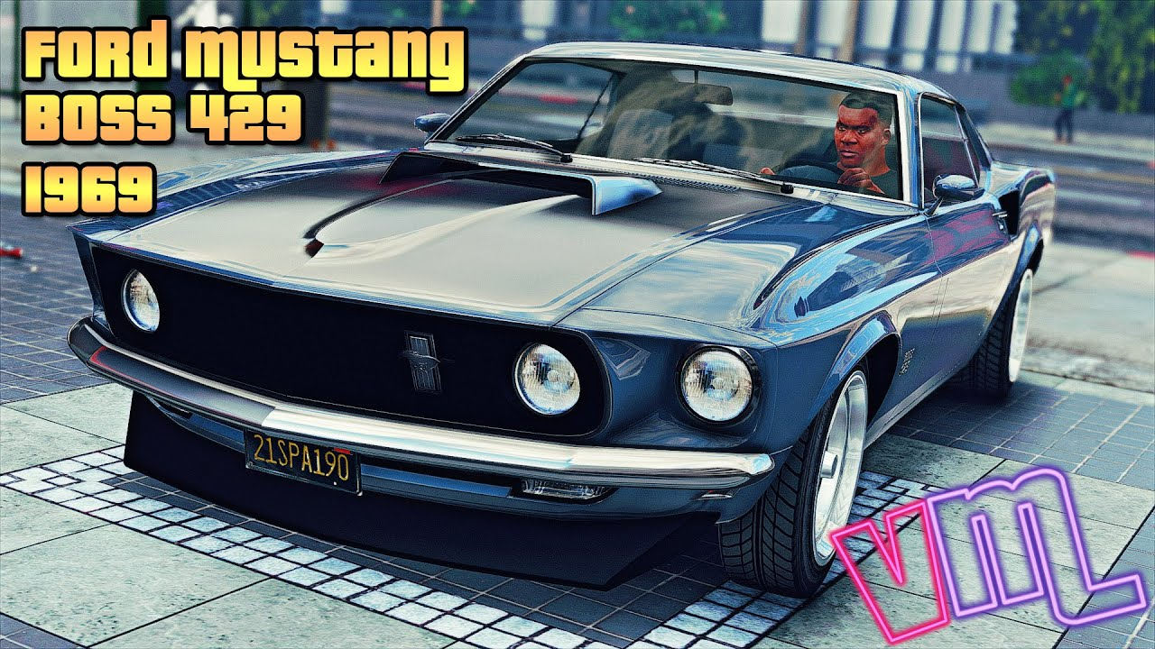 Gta 5 1969 ford mustang boss 429