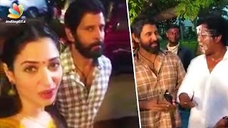 Tamanna asks Who is SKETCH ? | Vikram at Last Day Shooting Celebration | Hot Tamil News