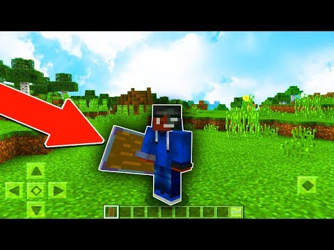 How to get a SHIELD in MCPE! - Minecraft PE (Pocket Edition)
