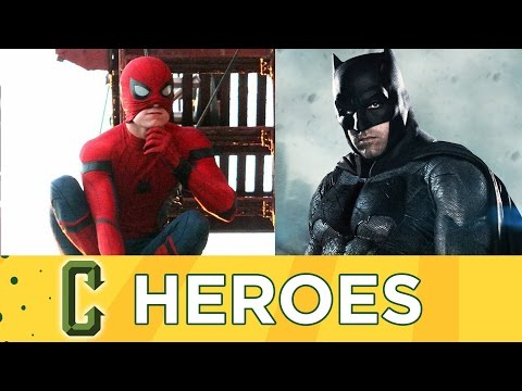 Spider-Man Homecoming Trailer, The Batman Release Before Justice League Part 2 - Collider Heroes