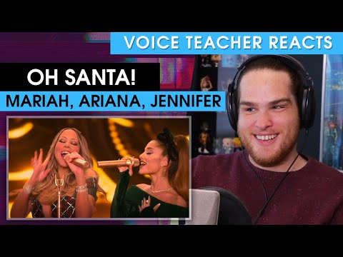 Voice Teacher Reacts to Oh Santa! – Mariah Carey ft. Ariana Grande and Jennifer Hudson