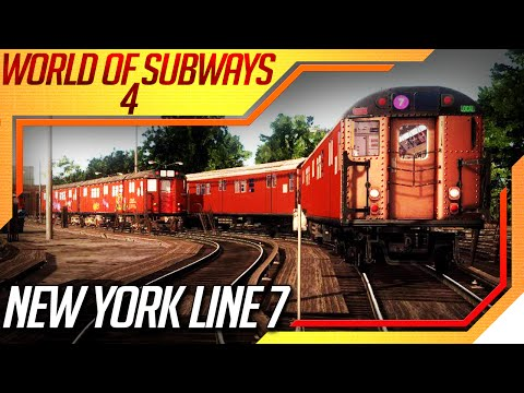 World Of Subways 4 New York Line 7 - Primeira Viagem de Metr