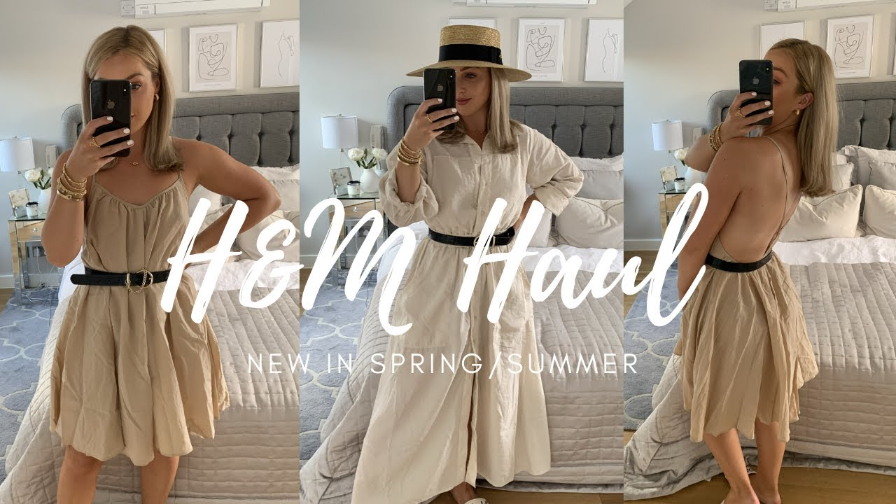 H&M HAUL | NEW IN SPRING/SUMMER