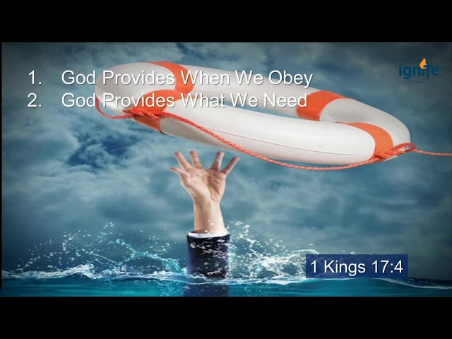 Ps Darin Browne - Where God Guides, He Provides