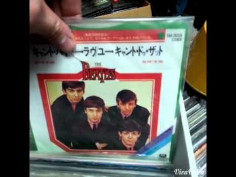 Beatles 45's for sale at Toms Music Trade