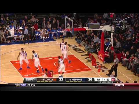 2013 Florida Gators Basketball vs Memphis Highlights