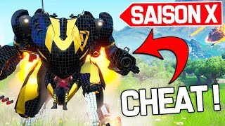 ROBOT IS TROP CHEATED ON FORTNITE SAISON X!