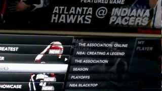 NBA2K12 MY PLAYER HACK