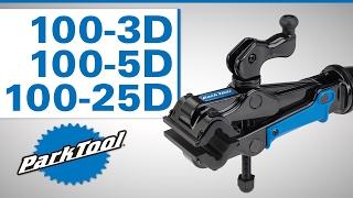 Park Tool 100-3D Professional Micro-Adjust Repair Stand Clamp