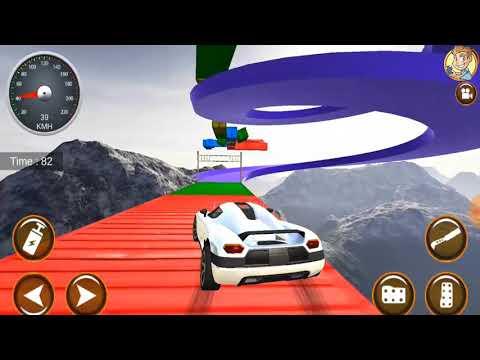 🥇 Mega Ramp Car Stunts 3D Game Simulation 2019 - Impossible