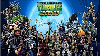 - Черепашки ниндзя Легенды TMNT Legends 70 Мульт игра для детей Мобильные игры
