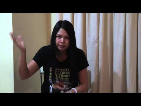 Part-1-Tagalog-Mussah Sherian Tulawie, wife of Tulawie speaks about Tulawie's case