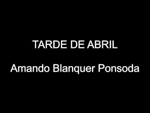 TARDE DE ABRIL - MARCHA MORA