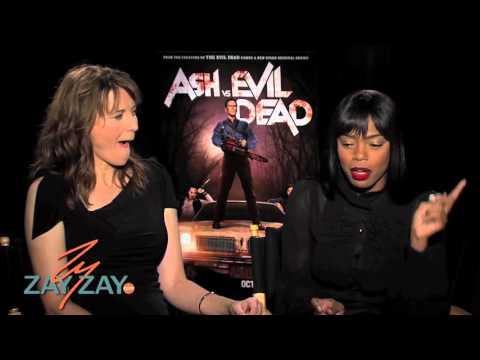 Ash vs Evil Dead  Lucy Lawless & Jill Marie Jones  ZayZay.Com