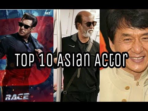 Top10 Highest Paid Actor In Asia | Rajinikanth | Jackiechan | jet lee