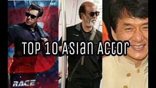 Top10 Highest Paid Actor In Asia | Rajinikanth | Jackiechan | jet lee