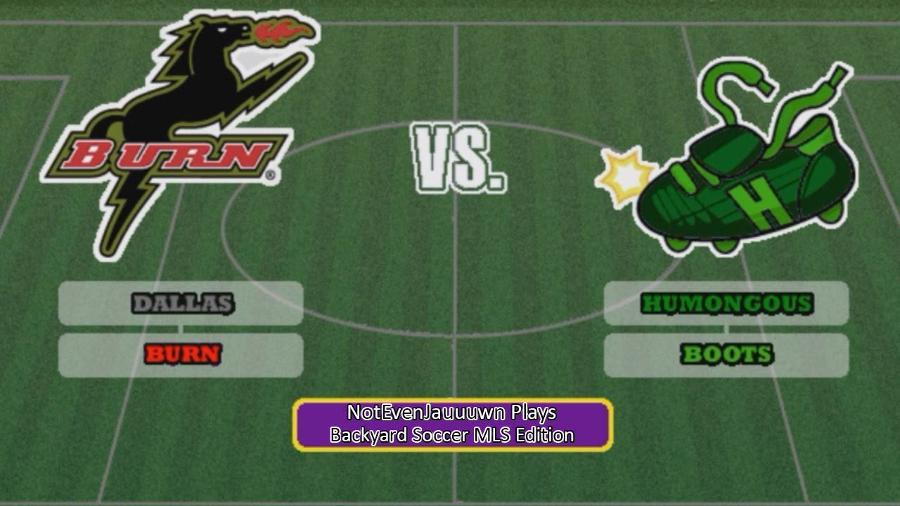 game 1 season opener of backyard soccer mls edition dallas