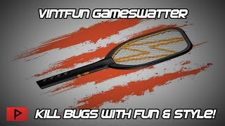 Vintfun  - GameSwatter Product Demo - Swatting Bugs With Awesome Game Sounds!