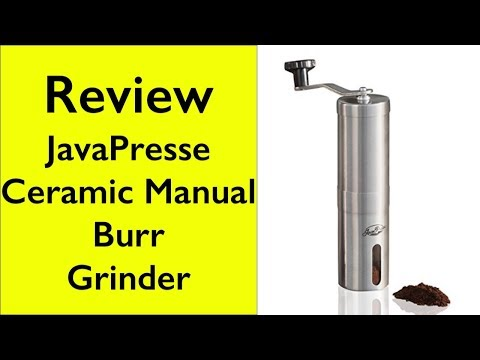 Javapresse Manual Coffee Grinder Unboxing Demonstration Youtube