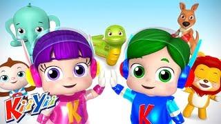 детские песни Зоопарк Еще KiiYii мультфильмы для детей