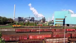 Duisburg-Hüttenheim - Ansicht der HKM-Stahlwerke