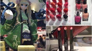 Shopping Vlog Tokyo -DUTY FREE* японские сладости *косметика*(shopping vlog Japan аэропорт Narita 2*покупки - сладости сувениры из Японии, авиакомпания JAL -в самолете, дегустация..., 2016-05-18T05:14:41.000Z)