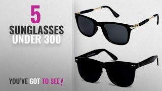 Top 10 Sunglasses Under 300 [2018]: Y&S Uv Protected Non Polarized Wayfarer Boy
