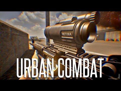 GIANT URBAN BATTLE - 40 vs 40 - Squad Realistic Combat