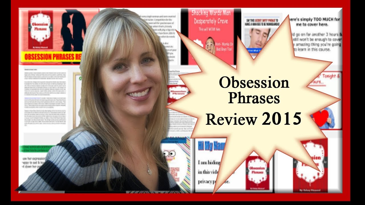 Obsession Phrases Book - Obsession Phrases