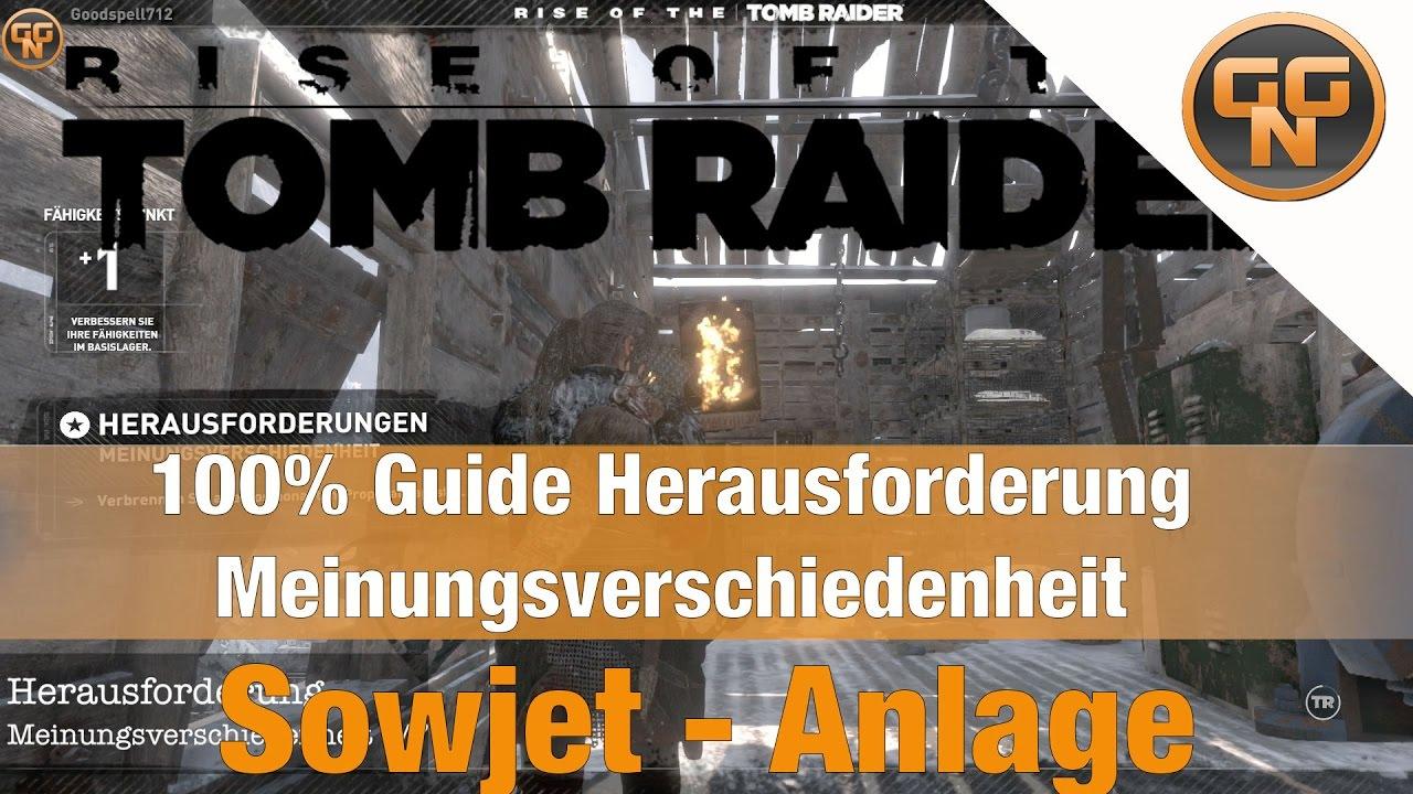 Tomb Raider Meinungsverschiedenheit