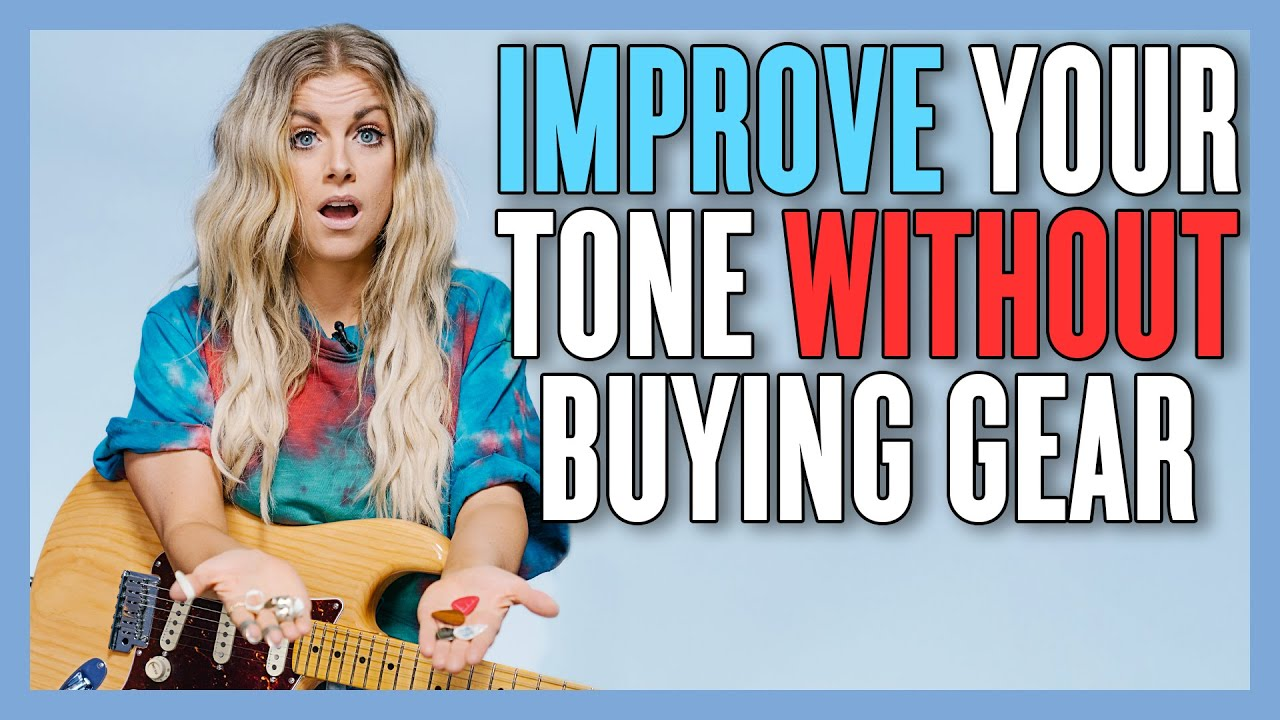 Switch Guitar Picks to TOTALLY Change Your Tone (feat. @Lindsay Ell)