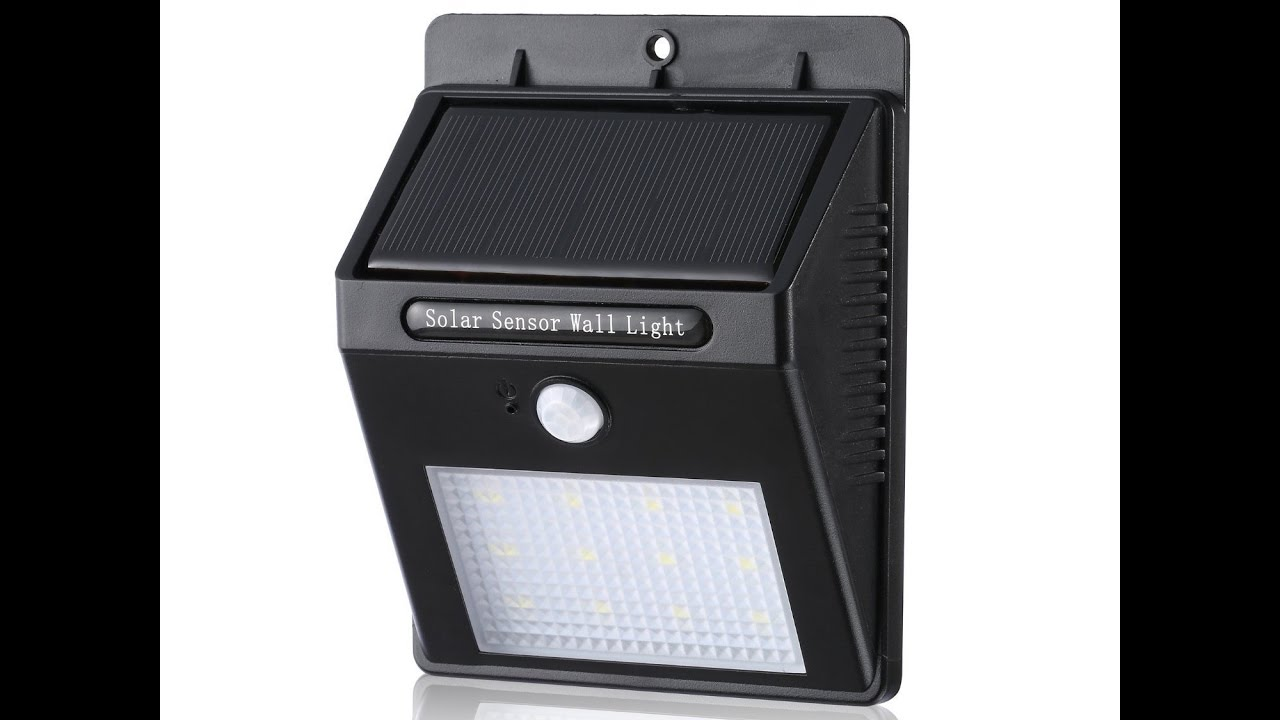 12 led wireless waterproof motion sensor outdoor light youtube 12 led wireless waterproof motion sensor outdoor light mozeypictures Images