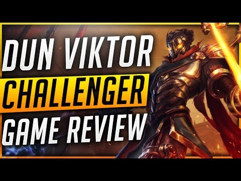 Challenger Viktor One Trick - DUN | Game review