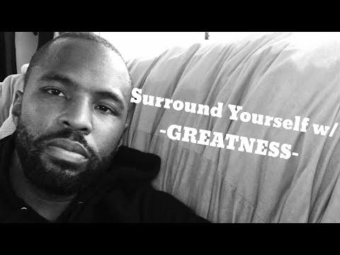 SURROUND YOURSELF W/ GREATNESS // Jelani Jenkins