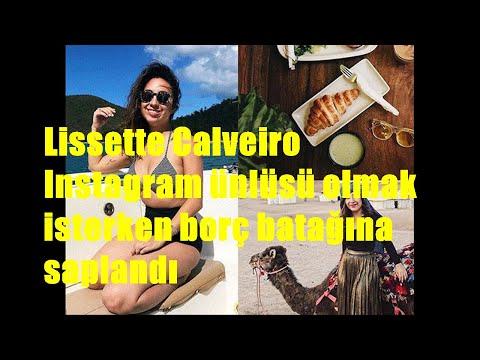 Lissette Calveiro Instagram ünlüsü olmak isterken borç batağına saplandı
