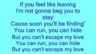 Enrique Iglesias -Escape (Lyrics)