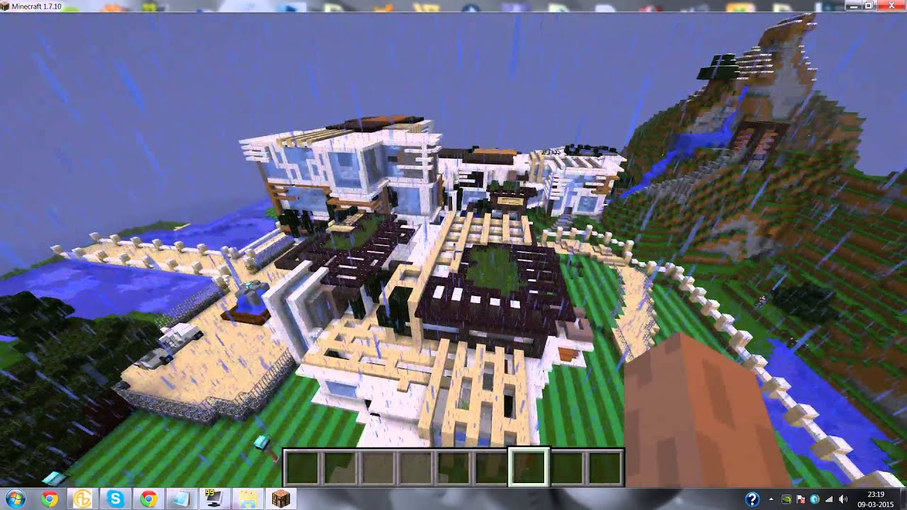 Minecraft contemporary mansion by marcusyu map review youtube minecraft contemporary mansion by marcusyu map review publicscrutiny Gallery